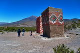 Colourful graves in Lauca (J. Villarroel)