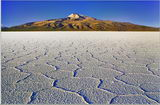 Salt flat and Tunupa volcano (Joe Klausner)