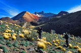 Walking up to the viewpoint of Tunupa volcano (J. Klausner)