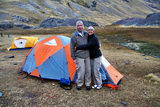 Camping and happiness in the Andes (Client R.Schrauwen)